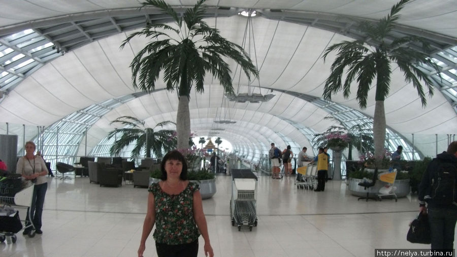 Бангкокский аэропорт.