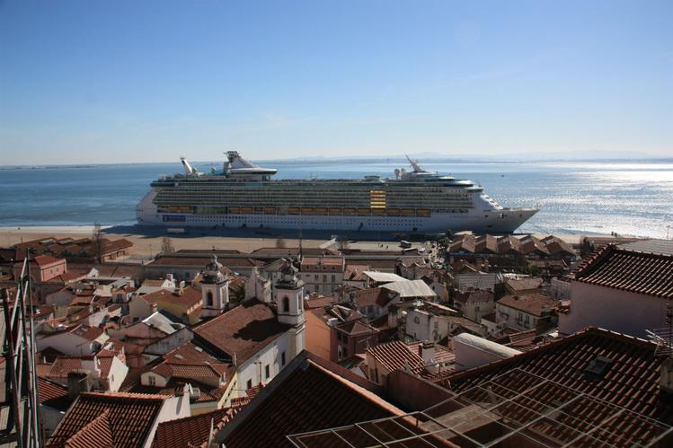 Лиссабон.<br /> Вид с miradour