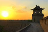 Закат на стене Пинъяо