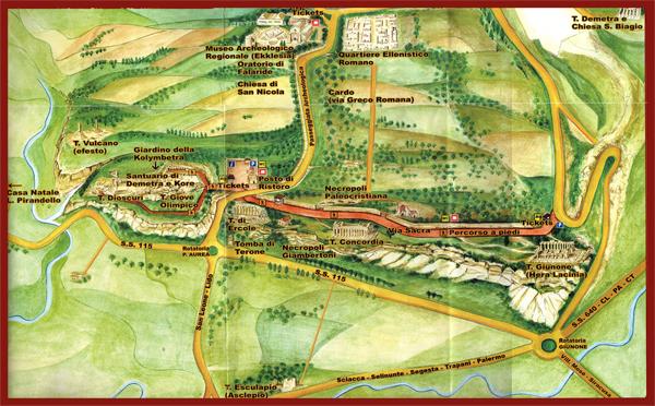 Карта археологического па