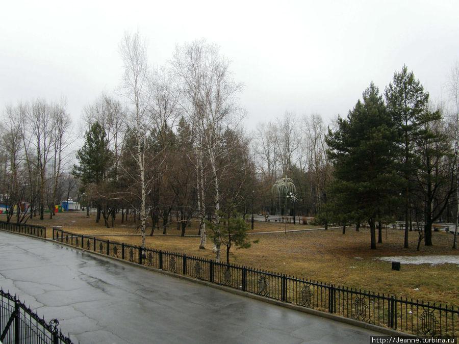 Я очень люблю этот тихий городской уголок — Парк