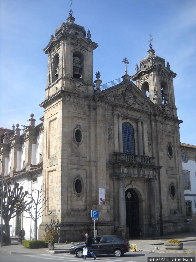 Фрагмент церковного комплекса