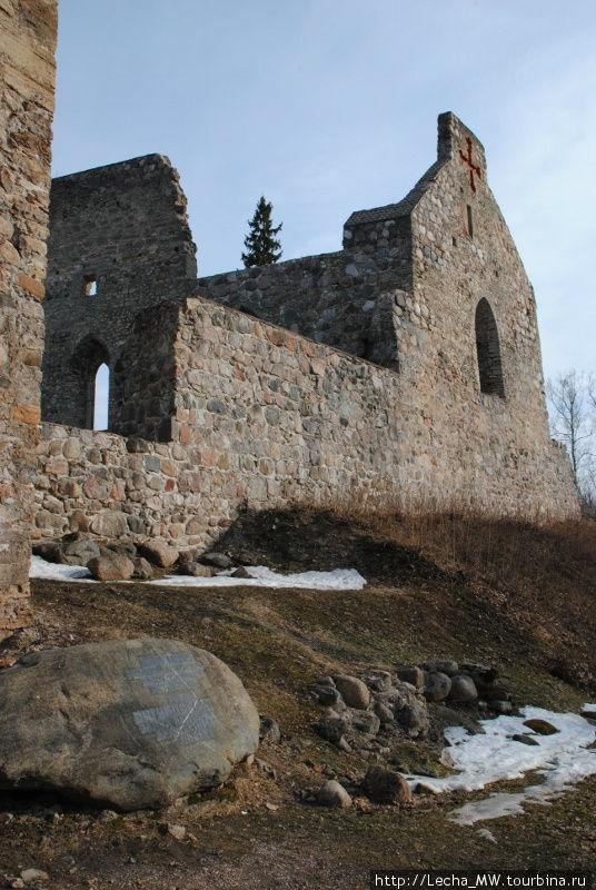 Развалины замка в Сигулде
