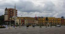 Площадь Скандербега в Тиране