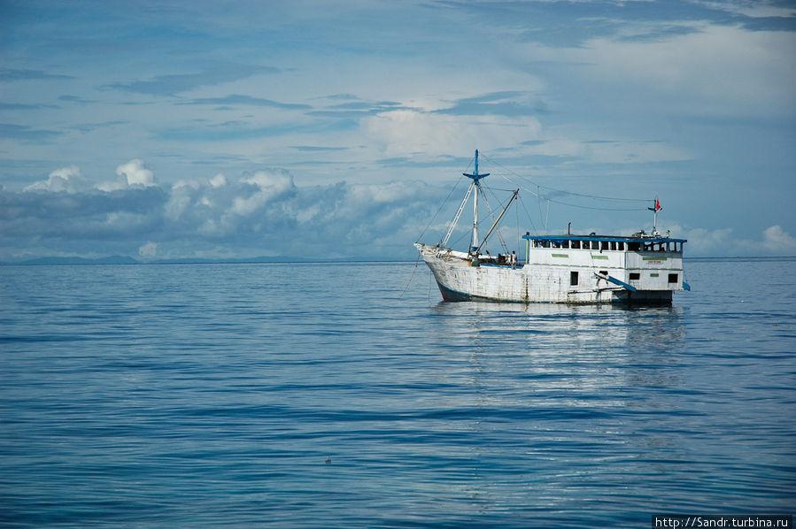 Остров Биак: с юга на север Остров Биак, Индонезия