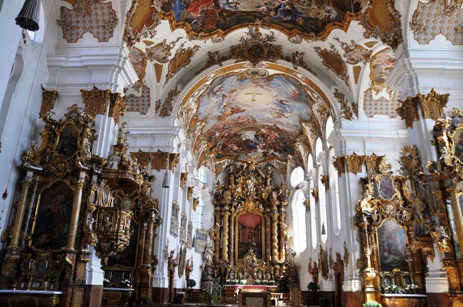 Церковь Святого Креста Ландсберг-ам-Лех, Германия