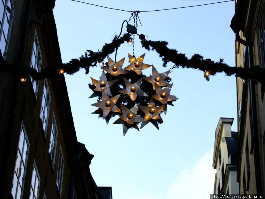 Рождественский антураж. Стокгольм.