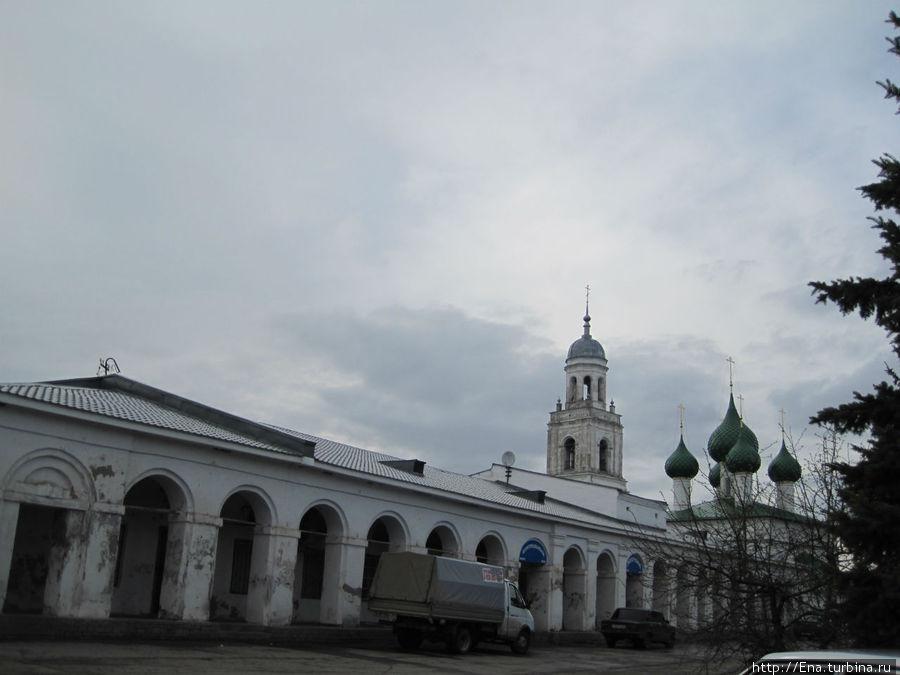 Комплекс торговых рядов и Троицкого собора