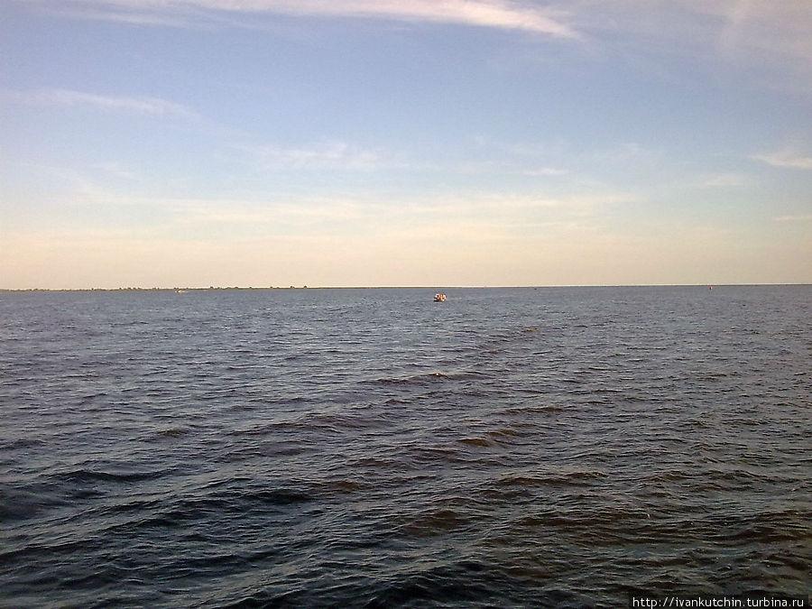 Озеро Ильмень, Славянское море.