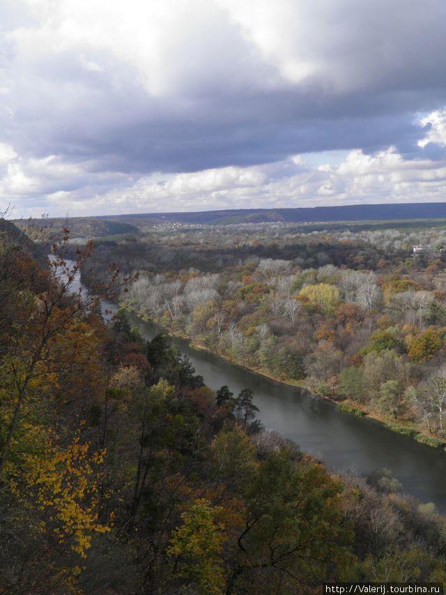 Осень в долине Северского Донца.