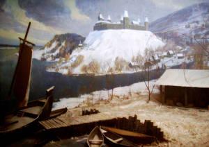 Так раньше выглядела Замковая гора.