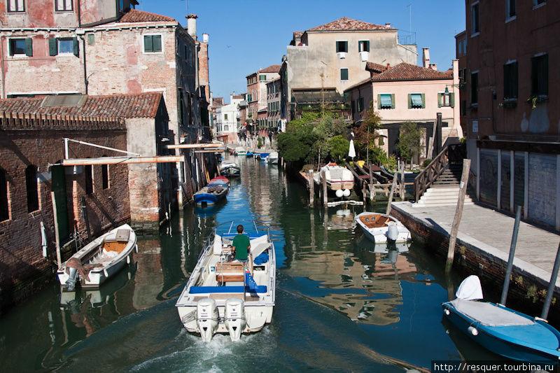Каналы Венеции, нетуристи
