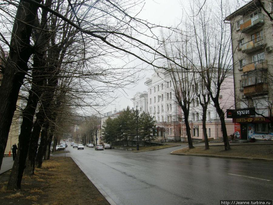 Улица Пушкина...
