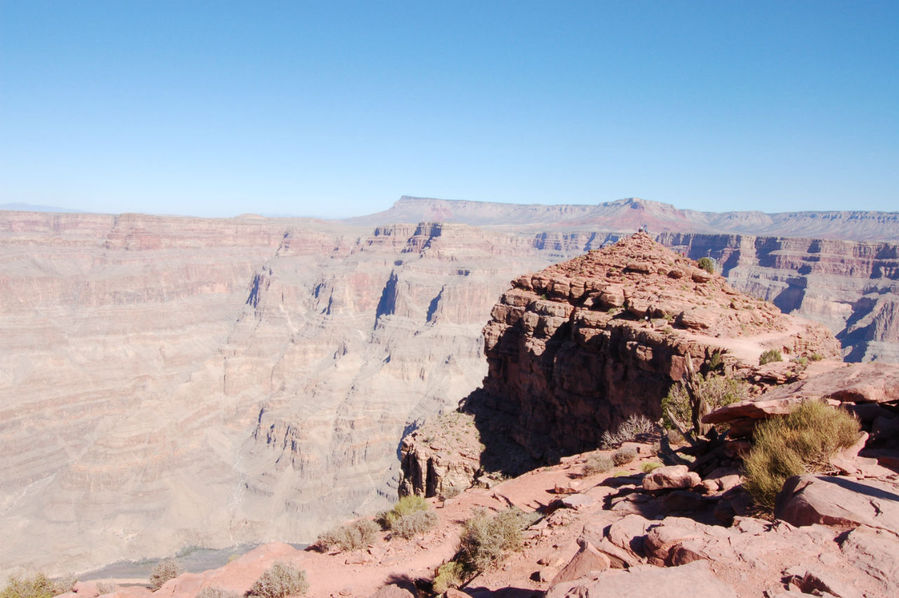 Гранд каньон в месте индейской стоянки