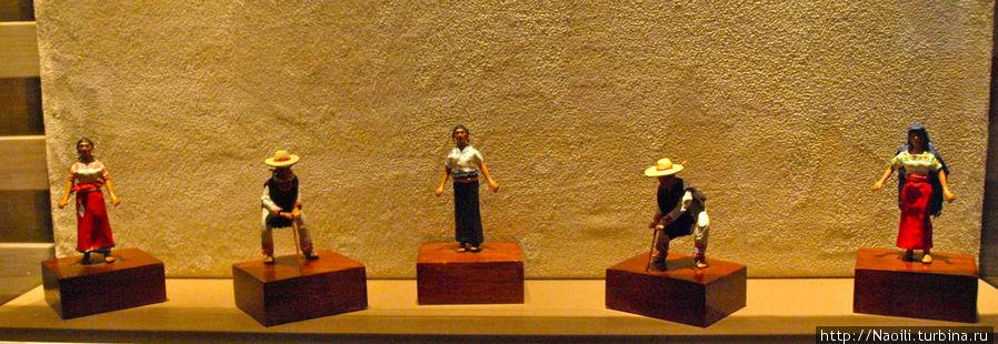 Мичоакан женский  и мужской костюм