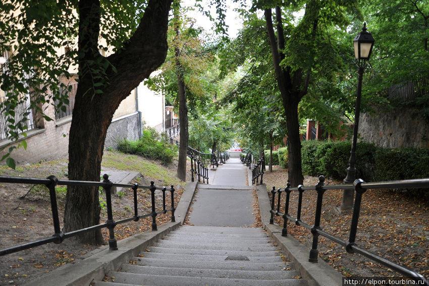Лестница на Будайском холме
