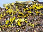 Черно-желтые болельщики Пеньяроля