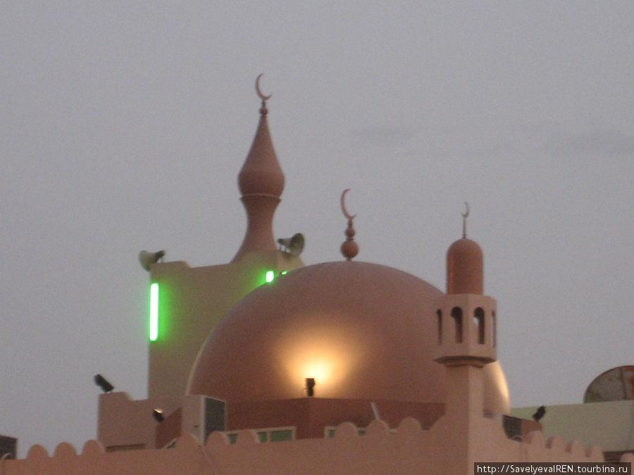 Купола мечети.