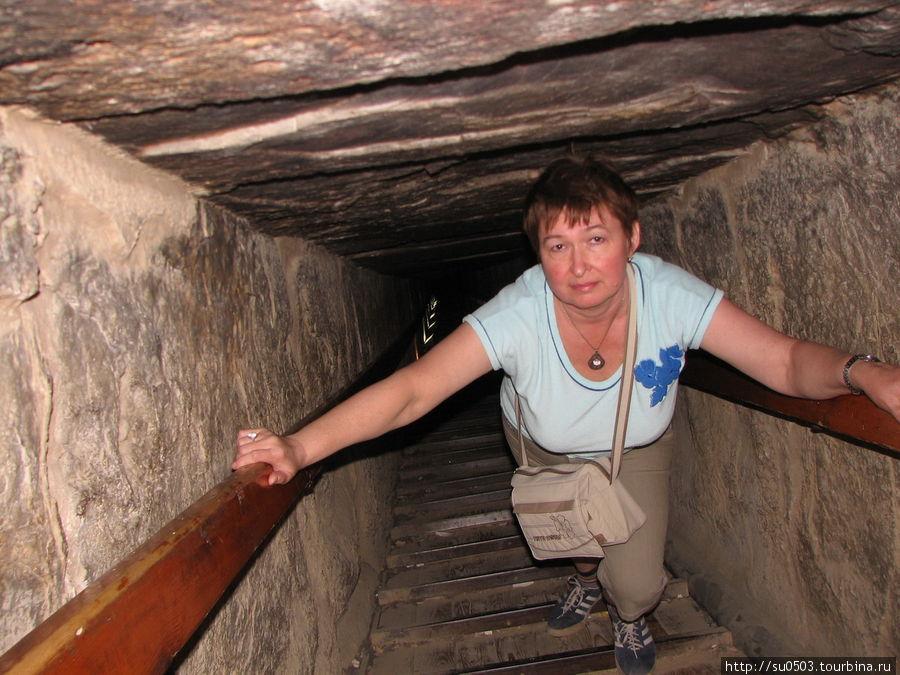 Туннель-спуск в Красную п