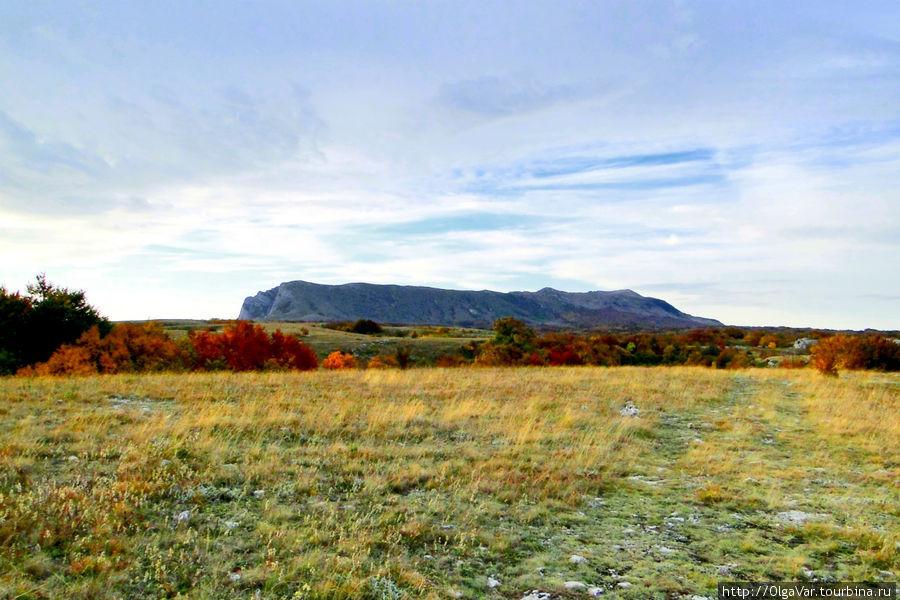 Так гора выглядит на расстоянии нескольких километров