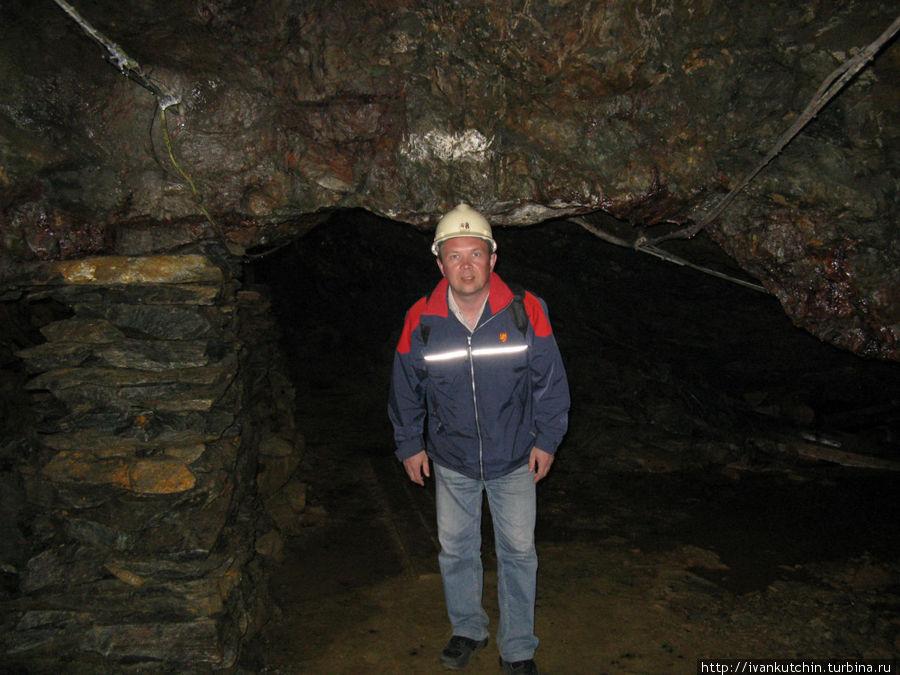 В старой шахте