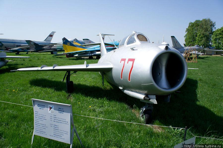 Красота! Просто нет слов. МиГ-17