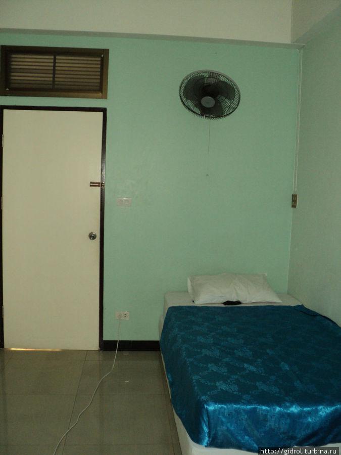 Комната с вентилятором.
