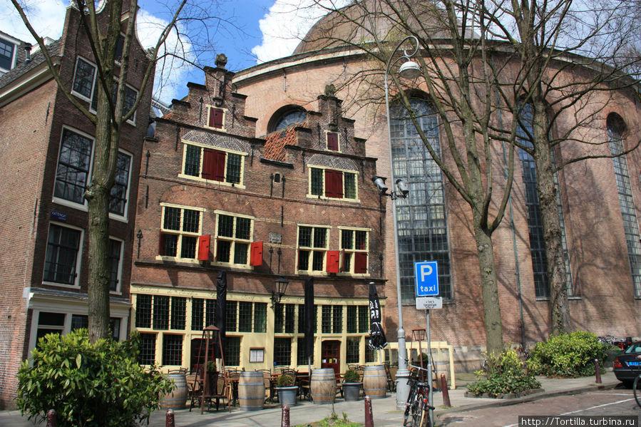 Нидерланды. Амстердам. Круглая Лютеранская церковь