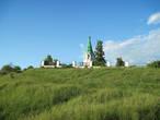 Церковь Введения во храм Пресвятой Богородицы. Вид с берега Волги