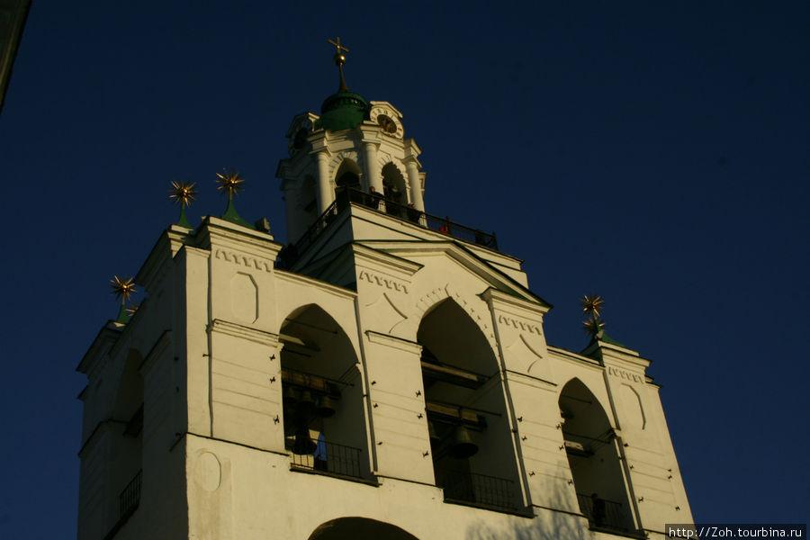 Спасо-Преображенский монастырь.Звонница