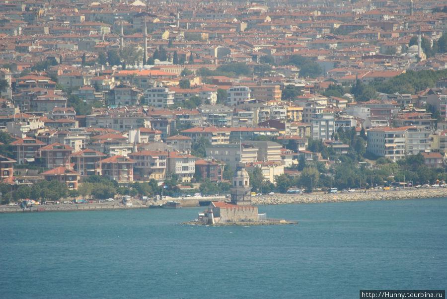 Азиатская часть Стамбула и The Leander's Tower