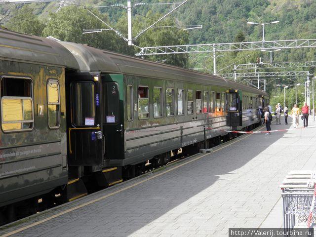 Вагоны уникальной железной дороги