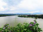 Из крепости открывается замечательный вид на Дунай.