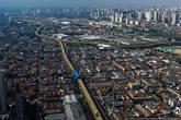 В Сан-Паулу для автобосув строят специальные эстакады.