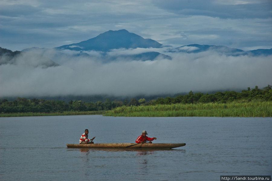 Рассвет на реке Иденбург (Таритату)