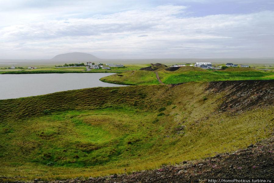 Пузыри Скутустадир, Исландия