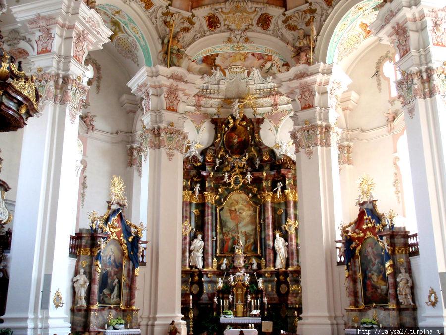 Visão geral do altar