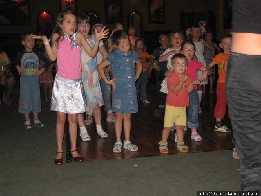 Март 2008. Детская дискотека.