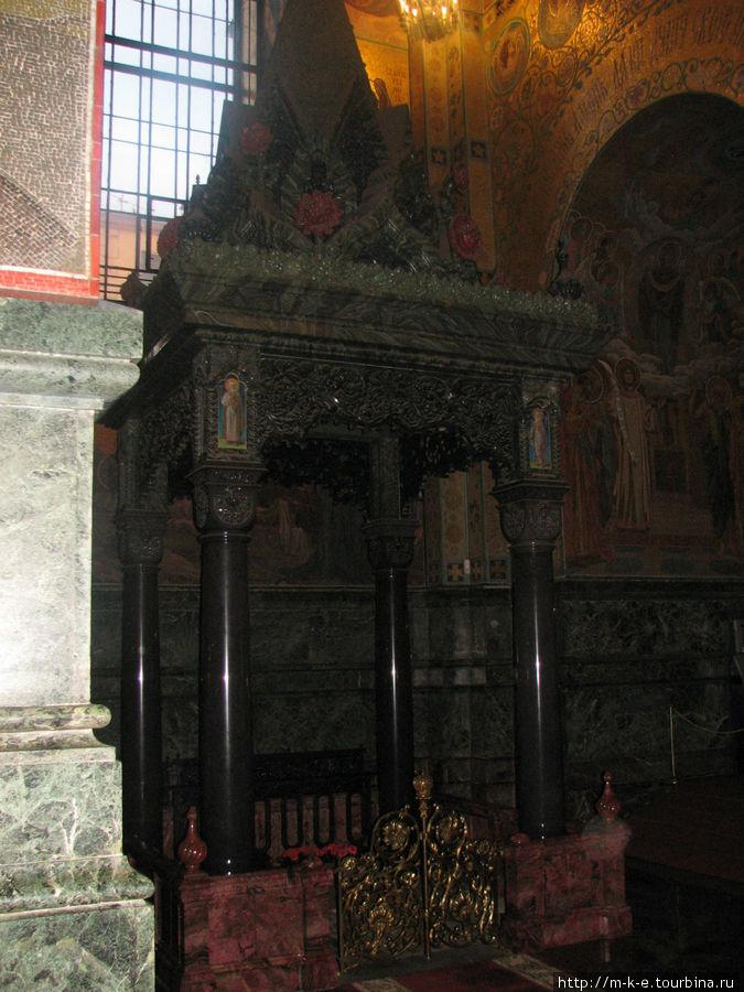 Место убийства Александра