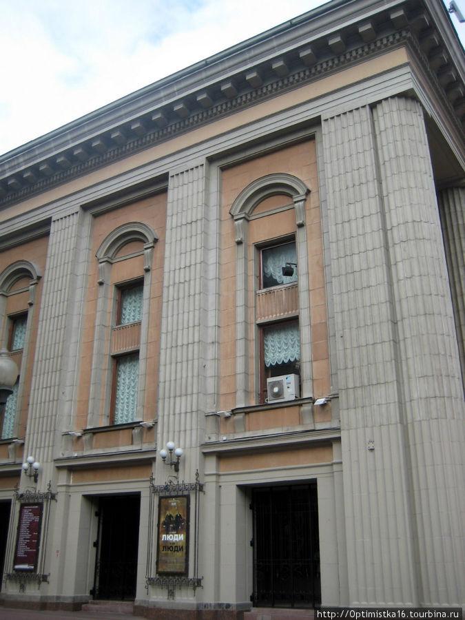 Здание театра им. Вахтангова.