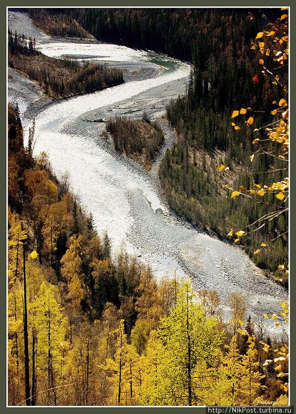 Восточный Казахстан. Река Бухтарма Казахстан