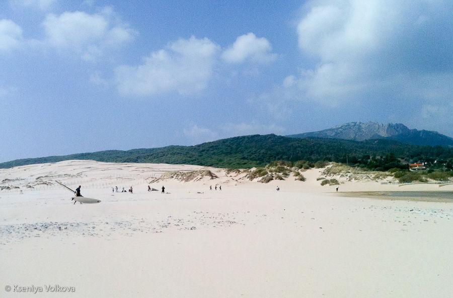 Немножко белых песчаных д
