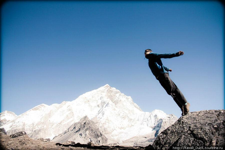 Руслан взлетает к Эвересту