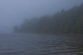 Буквально через десяток минут мы оказались полностью в тумане.