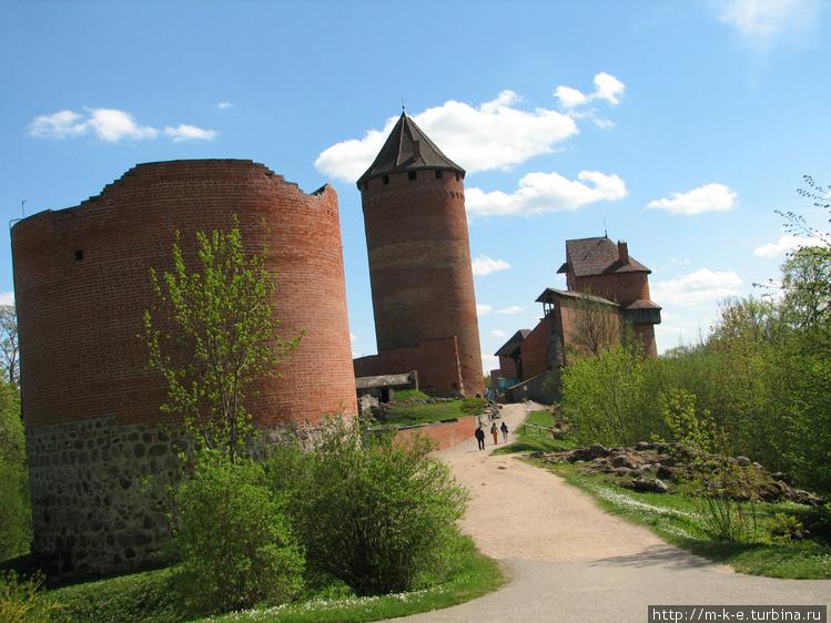 Северный вход в замок
