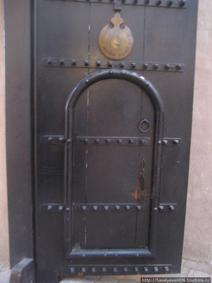 Входные двери...