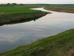 Простор, конечно, российский. Это — та же речка Теза, которая течёт через Шую.