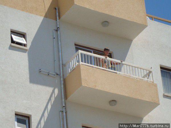 Мы жили на 5-ом этаже.