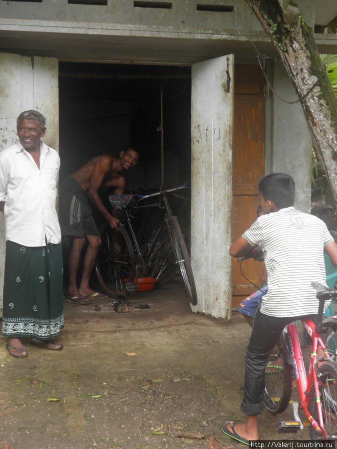 Мастерская по ремонту велосипедов