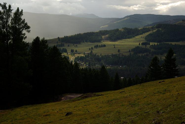 Село Балыктуюль.